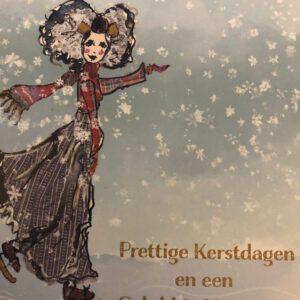 Zeeuwse kaart - prettige Kerstdagen en een gelukkig nieuwjaar