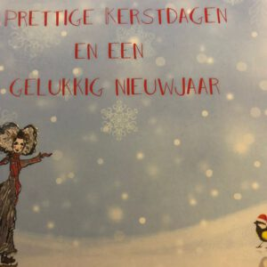 Zeeuwse kaart - prettige Kerstdagen en een gelukkig nieuwjaar 2